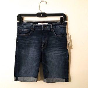 NWT H&M Jean Bermuda Shorts